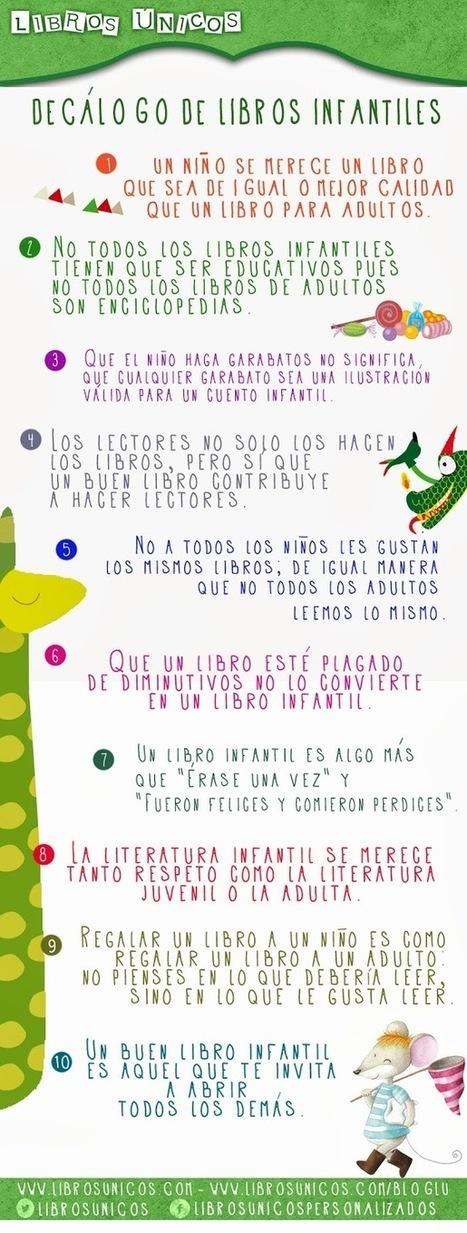 Literatura infantil y juvenil actual: Decálogo sobre libros infantiles   LIJ   Scoop.it