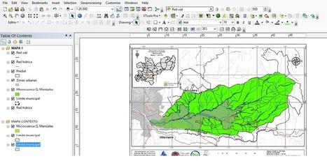 Geoinformación: Como crear un GeoPDF en ArcGIS | #GoogleMaps | Scoop.it