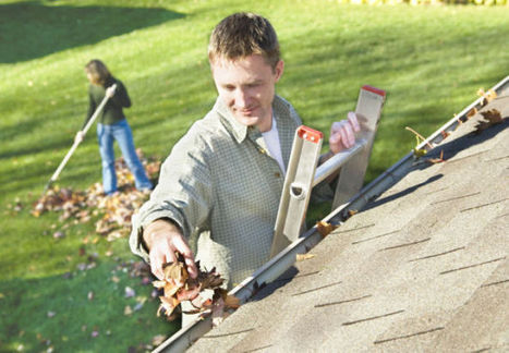 LeafGuard: How to protect your gutters and yourself - nwitimes.com | Gutter Outlets & Downspouts | Scoop.it