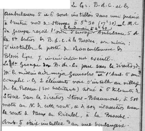 Les « Mémoires de guerre » du Lieutenant Charles Rungs (8e épisode) | Rhit Genealogie | Scoop.it