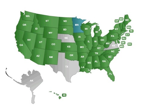 Common Core Standards Adoption by State | Common Core ELA | Literacy & Math | Scoop.it