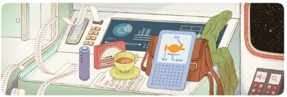 Douglas Adams Gets Google Doodled On His 61st Birthday | Sci-Fi | Scoop.it