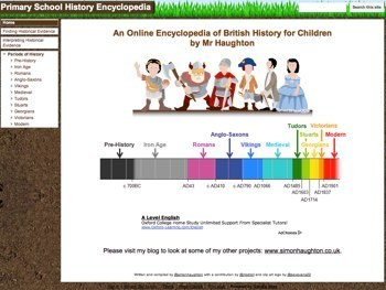 Primary School History Encyclopedia | Teaching News | Integrating Technology in the Classroom | Scoop.it