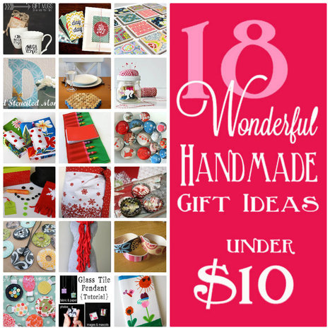 18 Handmade gifts under $10 - Skip To My Lou | Craft Ideas | Scoop.it