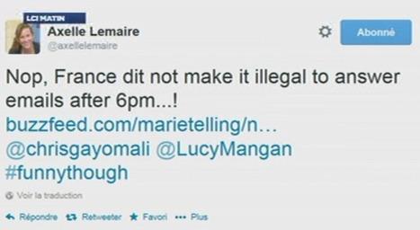 Non, en France, ce n'est pas illégal de répondre à un mail après 18h - TF1 | Journal complet | Scoop.it