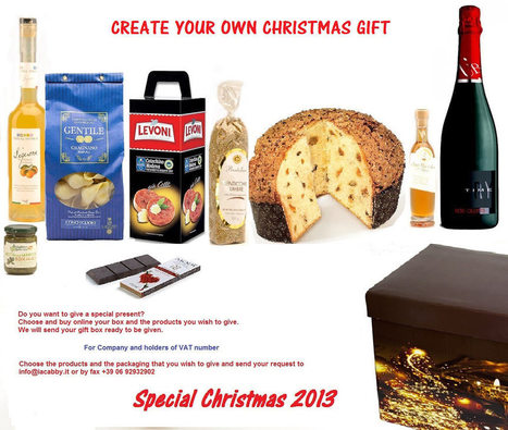 Christmas gift - Italy At Home | italyathome | Scoop.it