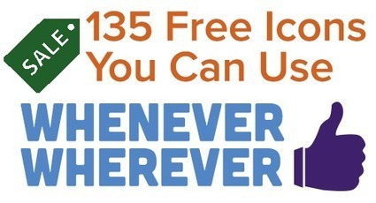 135 Icons For You to Use Whenever, Wherever [Free Download] | Social Media, SEO, Mobile, Digital Marketing | Scoop.it