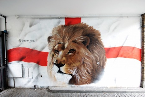Here Today, Gone Tomorrow..? Street Artists Support England's World Cup Campaig | New bookmarks | Scoop.it