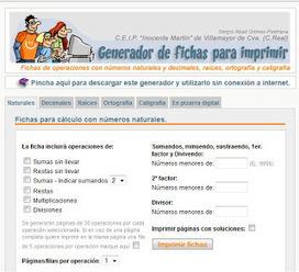 Generador operaciones para imprimir | Educación&Recursos TICCC | Scoop.it