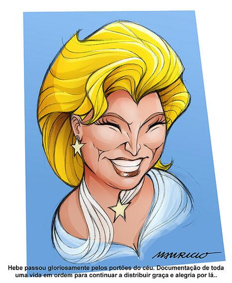 Folha de S.Paulo - Ilustrada - Mauricio de Sousa homenageia Hebe em desenho; veja - 29/09/2012 | Desenho | Scoop.it
