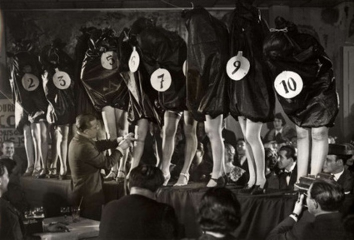 Most beautiful leg contest held in Paris, 1936 | Herstory | Scoop.it