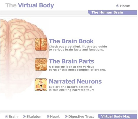Great Websites to Teach Anatomy of Human Body in 3D ~ Educational Technology and Mobile Learning | Web Site of the Week - 3.0 - SD#60 - PRN | Scoop.it