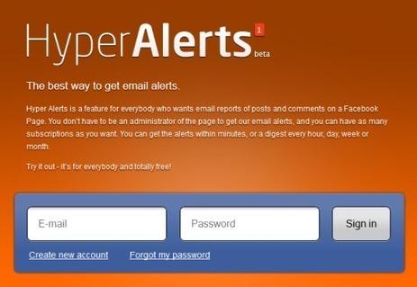 Surveiller les contenus Facebook efficacement avec Hyper Alerts | L'E-Réputation | Scoop.it