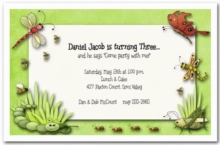 Announcingit - Google+ - Bugging You Birthday Party Invitations | Party Invitations | Scoop.it