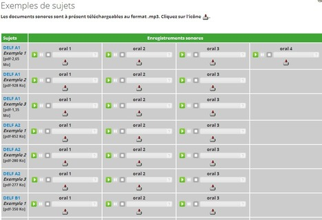 Préparons le DELF : Exemples de sujets | CIEP | Remue-méninges FLE | Scoop.it