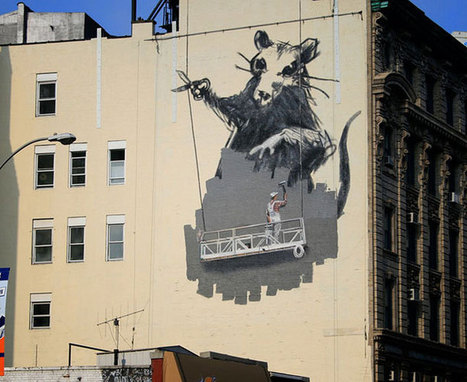 STREET ART 25 œuvres de Banksy - lalliepat | Hitchhiker | Scoop.it
