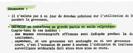 Dépakine: la justice se penche sur le scandale #régulateur d'humeur. | Sante mentale et troubles de l'humeur | Scoop.it