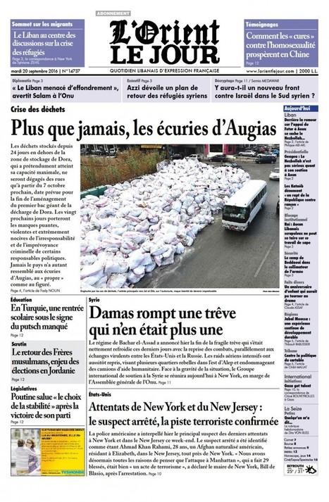 Patrimoine et terrorisme: Hollande plaide pour une conférence internationale à Abou Dhabi | Risques majeurs et gestion des sinistres | Scoop.it