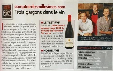 Comptoir des Millésimes dans La Revue du Vin de France - Comptoir des Millésimes : le Blog | Vins Grands Crus et Vieux Millésimes | Scoop.it