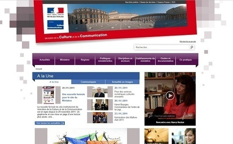 Le site du ministère de la Culture a coûté 530.000 € | Buzzeum | Scoop.it