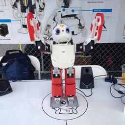 Robby the 3D Printed Humanoid Robot - 3D Printing Industry | DIY | Maker | Scoop.it