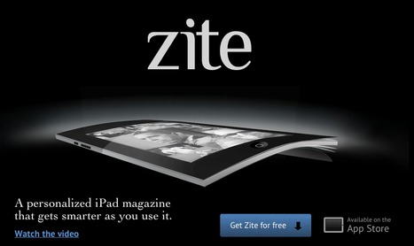 Zite: Personalized Magazine for iPad | mlearn | Scoop.it