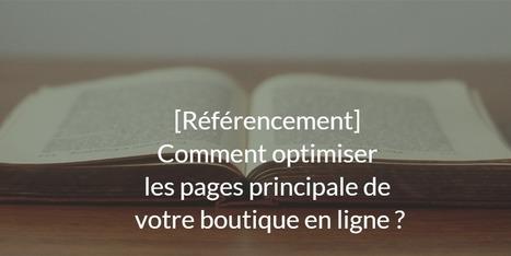 [Référencement] Comment optimiser les principales pages de votre boutique ?   Référencement, SEO, SEA   Scoop.it