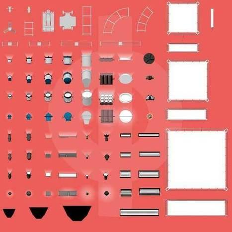 Cine Designer | 2D Symbol Library #001 - Cinematography Database | CINE DIGITAL  ...TIPS, TECNOLOGIA & EQUIPO, CINEMA, CAMERAS | Scoop.it