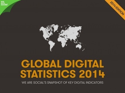 Social, Digital & Mobile in 2014 | Social Media (network, technology, blog, community, virtual reality, etc...) | Scoop.it