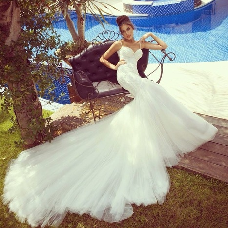 White Gowns Wedding, Western Wedding Dresses 2014-15 | a la mode | Scoop.it