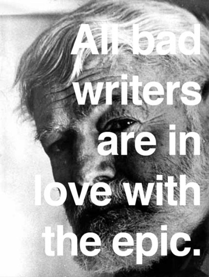Hemingway on writing, knowledge, and the dangers of ego - Writing rightly | DENIS HUMBERT ECRIVAIN | Scoop.it