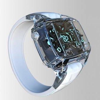 François Quentin y FashionLab presentan un reloj de zafiro diseñado con aplicaciones 3D   FashionLab   Scoop.it