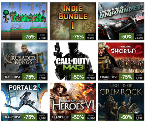 Soldes d'été sur Steam [BurningCB] « Tapahont.info | La Geek Team | Scoop.it