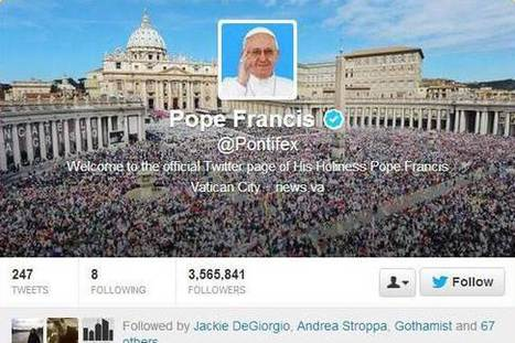 Pope Francis explains why the Internet is a 'gift from God' | Implementing common Core | Scoop.it