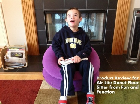 Air Lite Donut Floor Sitter from Fun and Function | Special & Determined | A Special Needs Mom Blog | Special Needs Parenting | Scoop.it