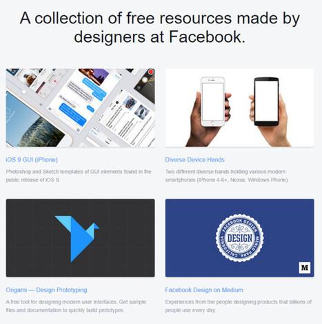 Facebook réunit ses éléments graphiques gratuits pour designers - Tech - Numerama | Geeks | Scoop.it