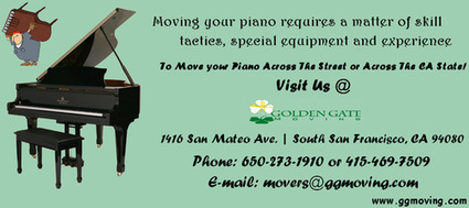 Piano Movers in SF | Golden Gate Moving Services | Scoop.it