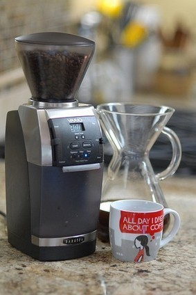 Baratza Vario Flat Burr Espresso Coffee Grinder | Black-Silver | Coffee | Scoop.it