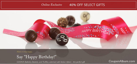Godiva Chocolate Gifts: 40% off!   All My Favorites   Scoop.it