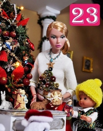 Advent Calendar Pics 2012 | Fashion Dolls | Scoop.it