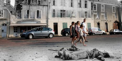 11 Striking Images That Show D-Day Landing Sites Then and Now | Teaching history and archaeology to kids | Scoop.it