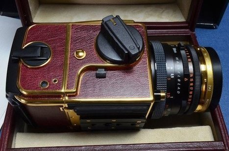 Limited Edition 'Gold Supreme' Hasselblad 503CW Pops Up on eBay for $10k | xposing world of Photography & Design | Scoop.it