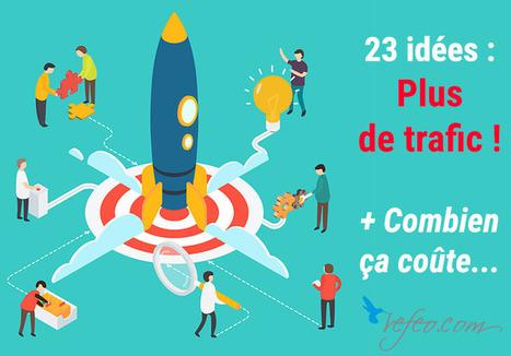 23 idées pour Augmenter le trafic de son site… Et combien ça coûte ! - Refeo.com   Réseaux Sociaux et Web : Nouvelles   Scoop.it