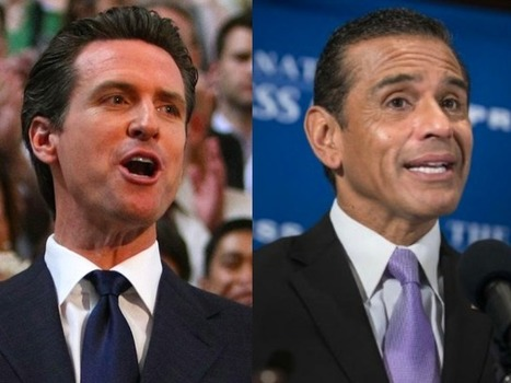 Newsom, Villaraigosa Tied in Early Governor's Race Poll - Breitbart | Political Agendas | Scoop.it
