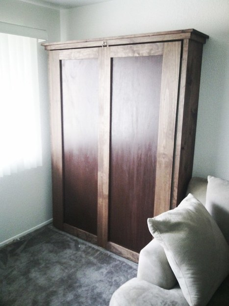 4 Free Murphy Bed Plans | Furniture Plans | Scoop.it