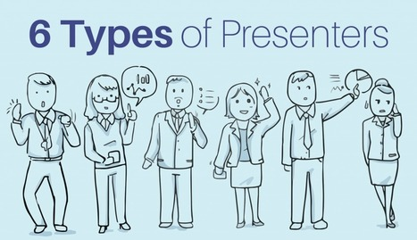 6 Types of Presenters: Which One Are You? [Quiz] | Graphic Coaching | Scoop.it