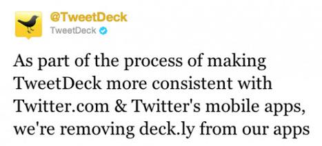 TweetDeck elimina función de tweets de más de 140 caracteres | Realidad aumentada | Scoop.it