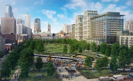 Minneapolis breaks ground on massive downtown east development | green streets | Scoop.it