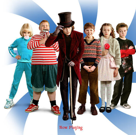 Charlie and the Chocolate Factory | EFL Kids | Scoop.it