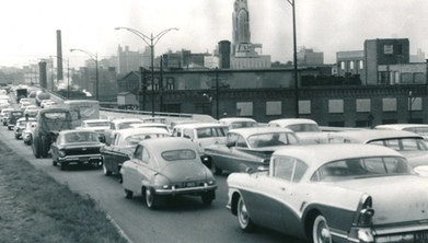 Rush hour into Downtown Columbus, 1961 | Columbus Life | Scoop.it